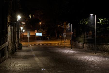 Preosvijetljena Streljačka ulica